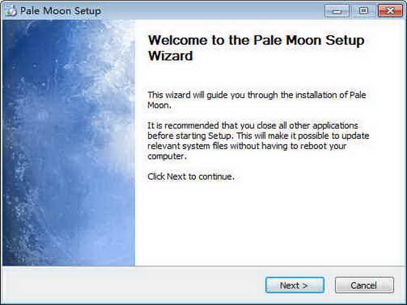 蒼月瀏覽器(Pale Moon) 32位下載