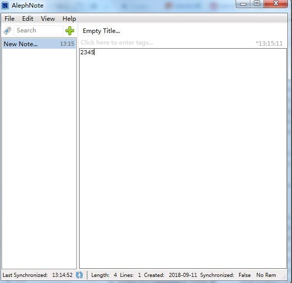 AlephNote(笔记本软件)下载