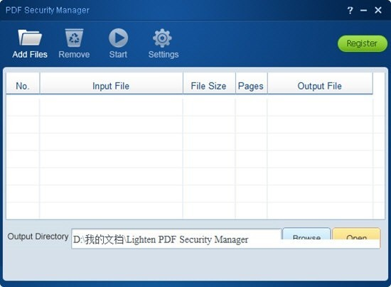 Lighten PDF Security Manager(PDF安全管理工具)下载