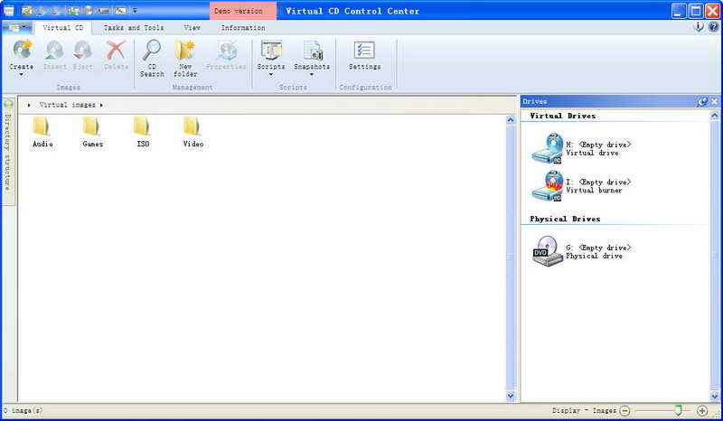 Virtual CD 10.7.0.0 Retail 虚拟光驱软件