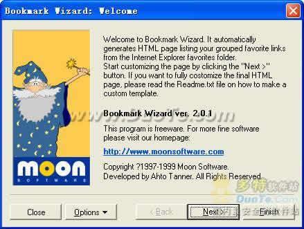 Bookmark Wizard V2.0.1