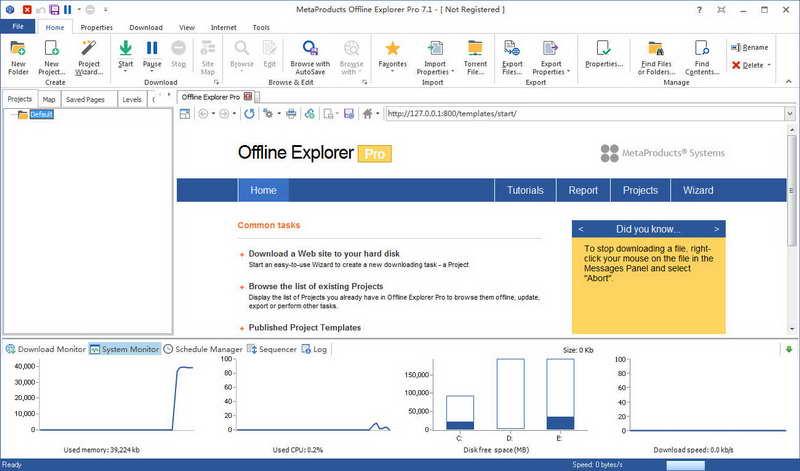 Offline Explorer Pro V7.1.4470