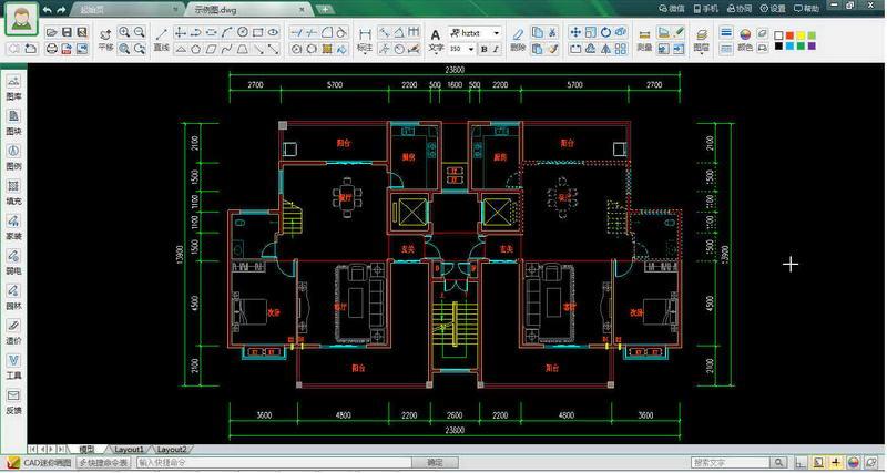 【CAD迷你画图概括介绍】 CAD迷你画图是全新推出的非常小巧轻快、而又简洁易用的CAD画图工具。 【CAD迷你画图基本介绍】 1. 支持多窗口、极速浏览DWG图纸; 2. 支持并兼容AutoCAD从R14到2013所有版本的格式; 3. 支持转PDF文件、打印、尺寸、坐标、测量和CAD云字体自动适配下载 4.