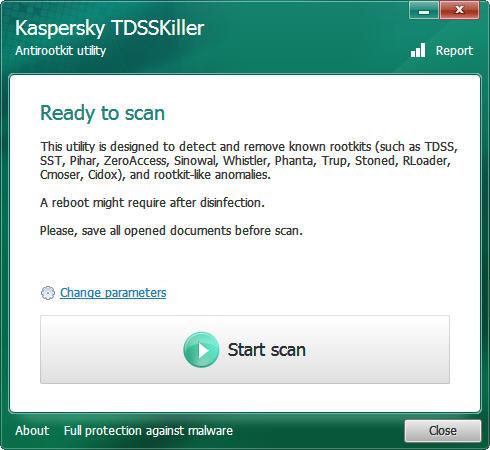 Kaspersky TDSSKiller V3.0.0.44