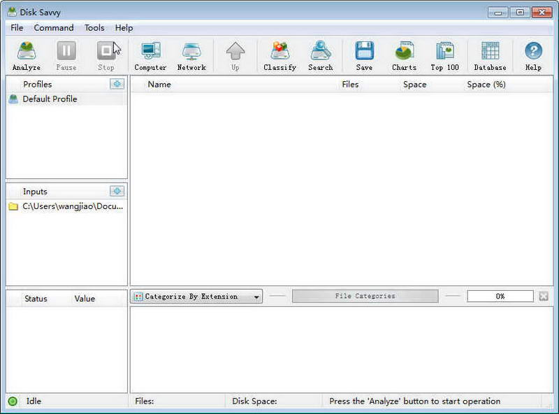 Disk Savvy(x32)(硬盘空间分析工具)V9.8.14