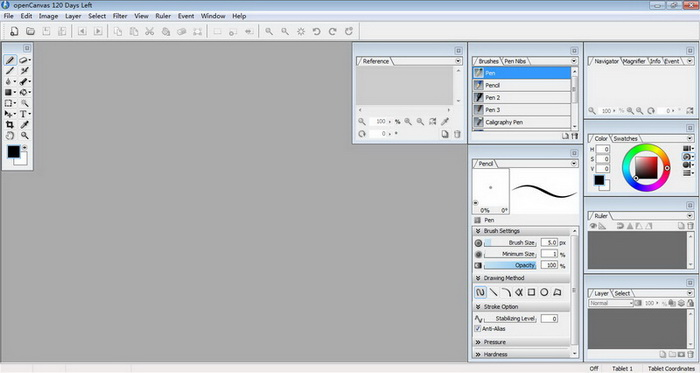 openCanvas Plus V6.0.6.0 官方版 (30次免费使用)