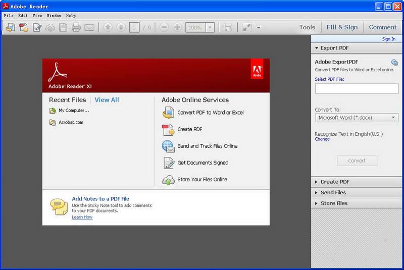 PDF阅读器(Adobe Reader) V11.0.9.29 简体中文版