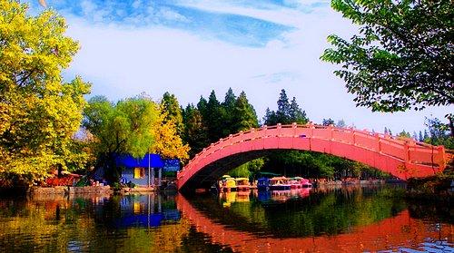 浉河公园旅游-浉河公园旅游景点-浉河公园图片-浉河