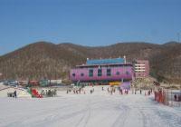 长春/长春莲花山滑雪场...