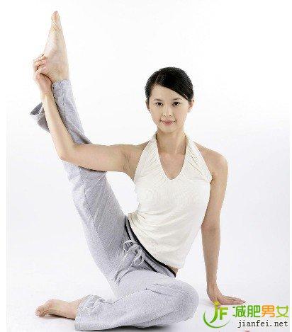 动作的动作大象瑜伽瘦掉瘦腿腿-经典-v动作瘦腿百科瘦腿知乎