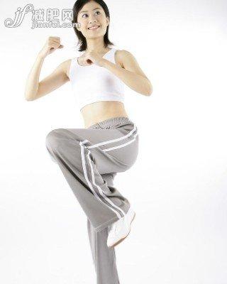 黄金瘦腿时段轻松变腿模-节食营养-减肥动作-瘦身减肥怎么补充百科图片