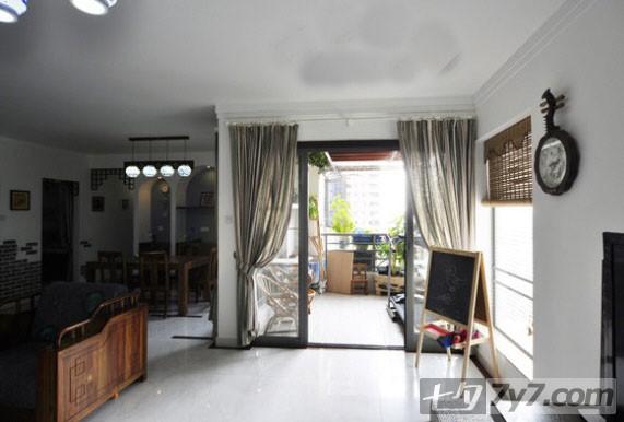 简中式古典装修效果图片大集合 阳台和餐厅小景,小窗户那边本来要放