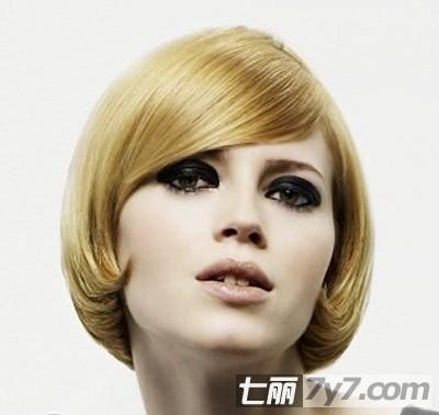 秋季沙宣短发发型设计