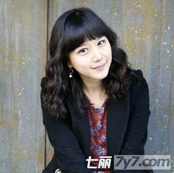 韩式短发蛋卷头发型图片