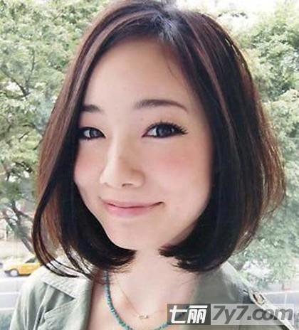 女生短发脸型搭配技巧 一起做个清爽可爱女生