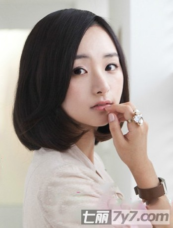 最新韩式短发发型图片 减龄显瘦发型让你气质出众