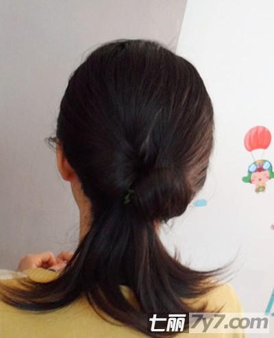 生活彩妆盘发器怎么用盘发视频教_发型设计