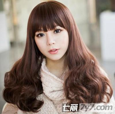大脸圆脸适合的发型 推荐甜美韩式短发梨花头