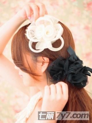 小清新公主马尾发型扎法 怎样扎出好看的马尾看这里