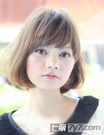 短发发型女小卷小清新分享展示图片