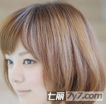 发型 4款短发波波头烫发修出小脸范