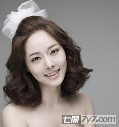 韩式短发梨花头发型图片