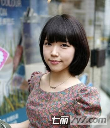 方脸适合什么短发 小清新显瘦短发发型图片