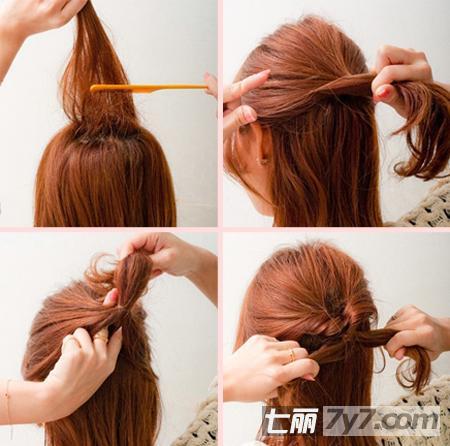 diy公主头发型的扎法图解