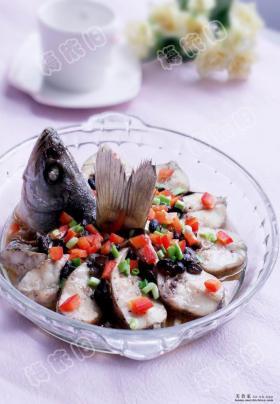 好吃的香辣大全蒸菜谱豆豉鲈鱼特色_做法-234炒鸭血配什么菜好吃图片