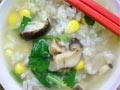 玉米香菇肉片粥