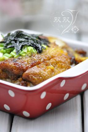 日式猪排盖饭