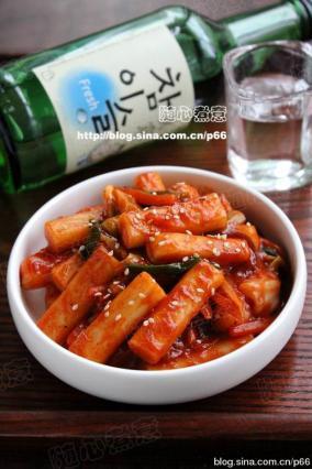 韩式辣炒年糕