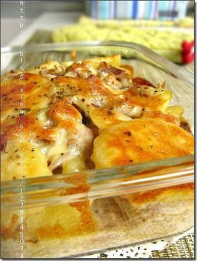 培根焗土豆