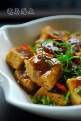 客家煎酿豆腐