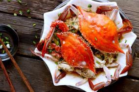葱油梭子蟹