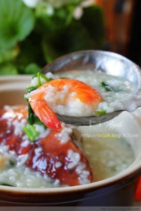 潮汕虾蟹砂锅粥