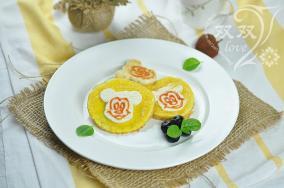 米奇馒头鸡蛋饼