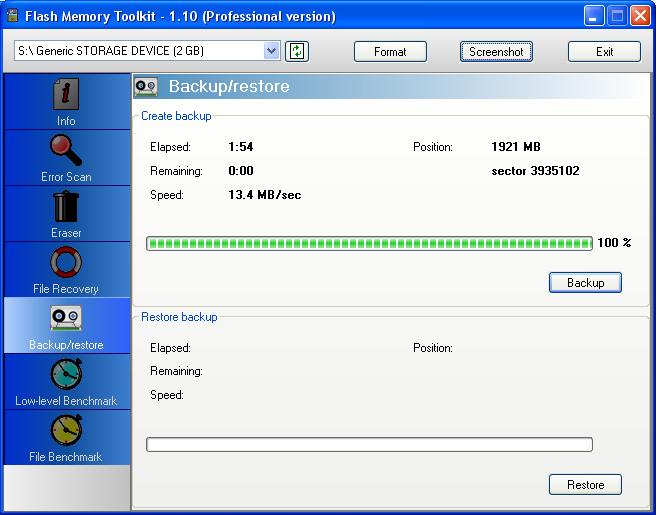 Flash Memory Toolkit下载