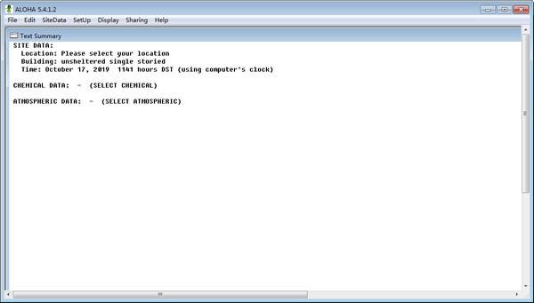 ALOHA(事故后果模拟软件)下载