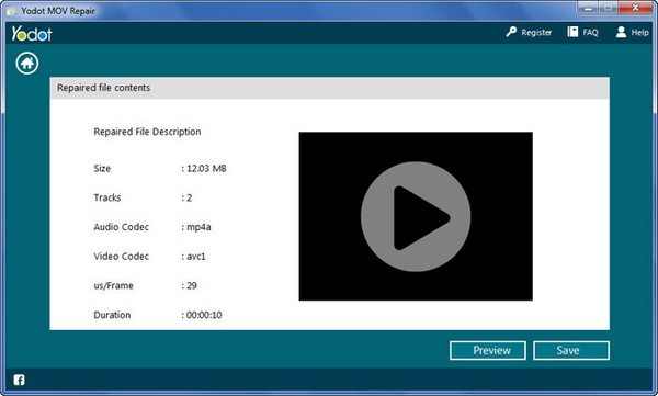 Yodot MOV Repair(MOV视频修复工具)下载