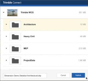 Trimble Connect sketchup插件下载